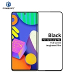 For Samsung Galaxy F62 PINWUYO 9H 2.5D Full Screen Tempered Glass Film(Black)