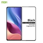 For Xiaomi Redmi K40 / K40 Pro MOFI 9H 2.5D Full Screen Tempered Glass Film(Black)
