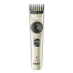 VGR V-031 5W USB Multi-size Controllable Self Trimming Hair Clipper