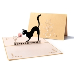 3 PCS 3D Stereo Greeting Card Handmade Birthday Greeting Card