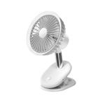 BP35 Clip 360-degree Rotating Student Dormitory Desktop Fan(White)