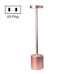 JB-TD003 I-Shaped Table Lamp Creative Decoration Retro Dining Room Bar Table Lamp, Specification: US Plug(Rose Gold)