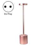 JB-TD003 I-Shaped Table Lamp Creative Decoration Retro Dining Room Bar Table Lamp, Specification: EU Plug(Rose Gold)