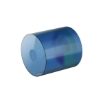 Bathroom Wall-Mounted Waterproof Roll Paper Tube Toilet Tissue Storage Box(Transparent Blue)