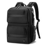 BANGE BG-G61 Men Business Shoulders Bag Waterproof Travel Computer Backpack(Black)