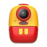 D10 Children Mini Dual Lens Polaroid Thermal Printing Digital Camera(Red)