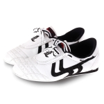 Weirui Taekwondo Shoes Men And Women Tendon Sole Training Shoes, Random Style Delivery, Size: 26(White )