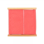 Montessori Teaching Aid Dress Frame Kindergarten Early Education Daily Life Learning Toys(Paste Buckle Clothing Frame)
