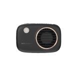 YJ191042 Lazy Hanging Neck Fan Portable Outdoor Handheld Mini Fan(Black)