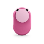 Q59 Mini Lazy Hanging Neck Fan Leafless Mute USB Portable Air Cooler(Pink)