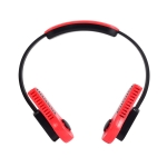 USB Leafless Hanging Neck Lazy Sports Silent Fan(Red)
