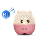 WE2121 Music Starry Pig Projection Night Light With Sleeping Light, Light color: Bluetooth Pink