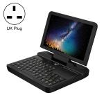 GPD MicroPC Mini Gaming Laptop, 6.0 inch, 8GB+256GB, Windows 10 Intel Celeron N4120 Quad Core, Support Dual Band WiFi & Bluetooth & TF Card, UK Plug(Black)