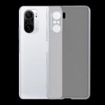 For Xiaomi Redmi K40 0.75mm Ultra-thin Transparent TPU Soft Protective Case (Transparent)