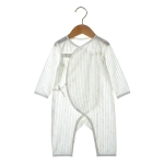 Newborn Baby Long-sleeved Jumpsuit (Color:Beige Size:66)
