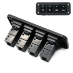 12-24V Car Modified 4-position Switch Panel for Toyota