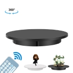 60cm Electric Rotating Turntable Display Stand Video Shooting Props Turntable for Photography, Load: 100kg, US Plug (Black)