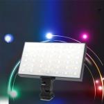 LUXCeO P03 LED Video Light 800LM Super Slim Panel Light On-camera Light Selfie Light Video Photography Studio Light