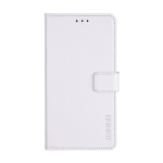 For Xiaomi Redmi Note 10 Pro idewei Crazy Horse Texture Horizontal Flip Leather Case with Holder & Card Slots & Wallet(White)