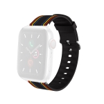 Silicone Replaceable Watch Strap For Apple Watch Series 6 & SE & 5 & 4 40mm / 3 & 2 & 1 38mm(18)