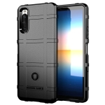 For Sony Xperia 10 III Full Coverage Shockproof TPU Case(Black)