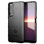 For Sony Xperia 1 III Full Coverage Shockproof TPU Case(Black)