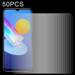 For vivo Y72 5G 50 PCS 0.26mm 9H 2.5D Tempered Glass Film