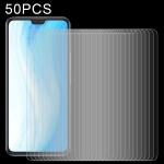 For vivo S7t 50 PCS 0.26mm 9H 2.5D Tempered Glass Film