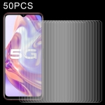 For vivo Y31s 50 PCS 0.26mm 9H 2.5D Tempered Glass Film