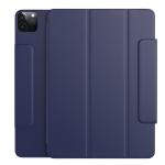 Benks Magnetic Horizontal Flip PU Leather Case with Holder & Sleep / Wake-up Function & Pen Bucket For iPad Pro 11 (2021)(Ice Blue)