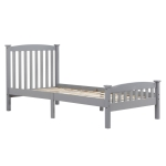 [US Warehouse] Wooden Vertical Double Bed, Size: 107.8×200.5×99.5cm
