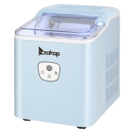 [US Warehouse] Zokop 120V 120W Portable Household Push-button Ice Maker, US Plug