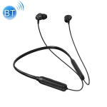 M61 Bluetooth 5.1 Business Sport Magnetic Metal Stereo Neck-mounted Bluetooth Earphone (Black)