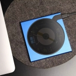 Original Xiaomi Youpin VH Explore Edition 10W Qi Standard Smart Wireless Charger with LED Indicator Light (Blue)