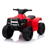 [US Warehouse] Small Single-wheel Drive ATV with LED Light (Red)