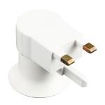 E27 Socket Type Light Holder Base Lamp Holder Converter with Switch, UK Plug