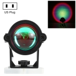3W Mini Atmosphere Lamp for Decoration / Photography, Light Color: Rainbow, US Plug