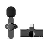Type-C / USB-C Interface Live Broadcast Wireless Lavalier Microphone