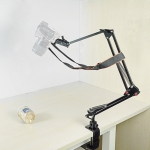 206B Camera Holder Adjustable 360 Degrees Rotation Photography Monitoring Video Recording Overhead Bracket