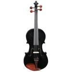 [US Warehouse] Glarry GV103 4/4 Spruce Panel Violin (Black)