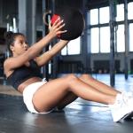 [US Warehouse] 30lbs PVC Fabric Strength Training Soft Medicine Ball Kettlebell