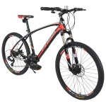 [US Warehouse] FINISS 26 inch 24-speed Aluminum Mountain Bike(Red)