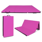 [US Warehouse] Foldable PVC EVA Exercise Yoga Gymnastics Mat, Size: 180x120x5cm