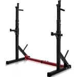 [US Warehouse] Home Gym Adjustable Barbell Rack, Max Load: 550LBS