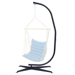 [US Warehouse] C-type X-base Metal Hanging Chair Frame for Hammock