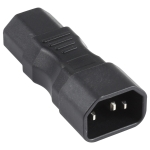 C13 to C15 Groove AC Power Plug Adapter Converter Socket