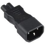 C7 to C14 AC Power Plug Adapter Converter Socket