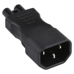 C5 to C14 AC Power Plug Adapter Converter Socket