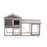 [US Warehouse] Wooden Pet House, Size: 58.27×33.86x 21.26 inch