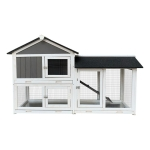 [US Warehouse] Wooden Pet House for Small Animals, Size: 61×20.9×7 inch